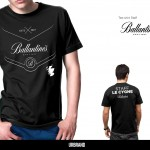 T-Shirt Ballantines Staff