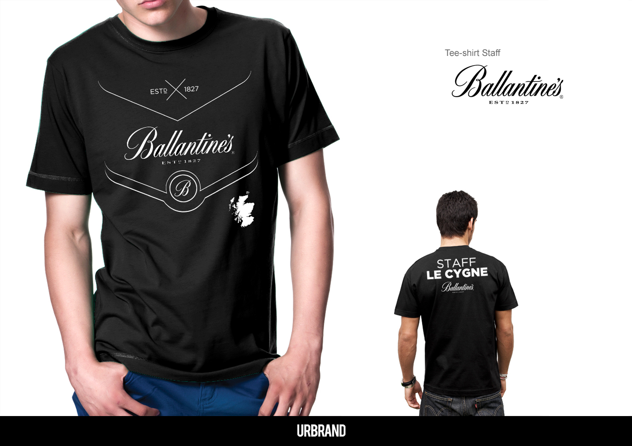 T-Shirt Ballantines Staff
