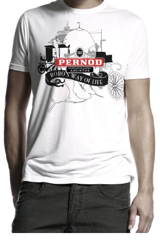 T-Shirt Pernod Bobo's Way of Life